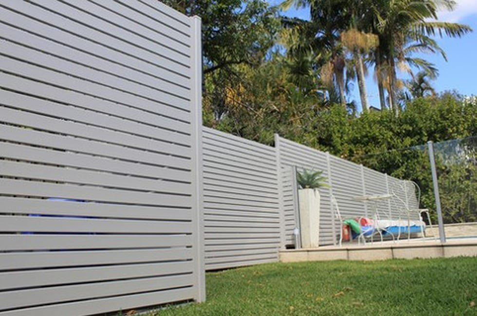 Aluminium Slat Screens Sunshine Coast